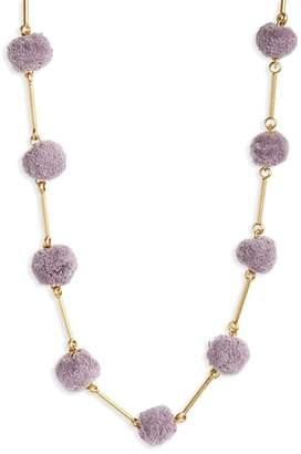 Madewell Pompom Necklace
