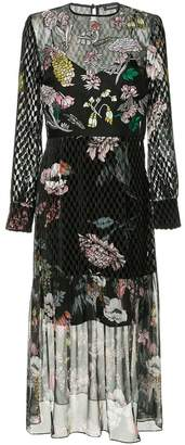 Markus Lupfer layered embellished dress