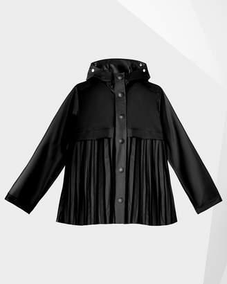 0a47814f1 Hunter women's original pleated vinyl waterproof jacket