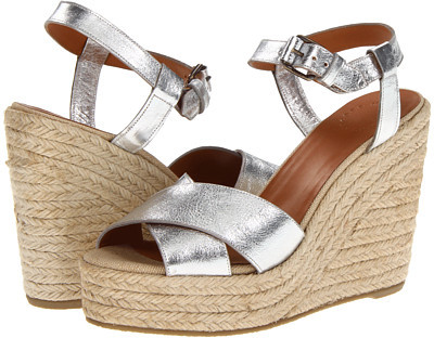 Marc by Marc Jacobs Metallic Espadrilles
