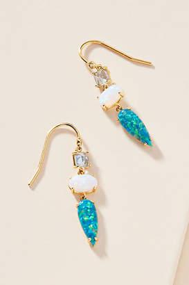 Anthropologie Gracie Stone Drop Earrings
