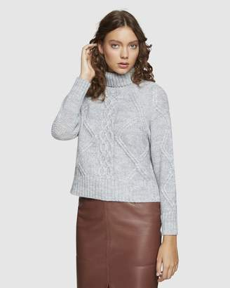 Oxford Lola Cable Knit