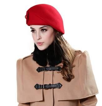 f557563929607b Toaimy Autume Winter Hat Ladies Korean Fashion Elegant Women French Style  Beret Beanie Warm Pillbox Hat