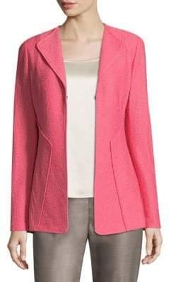 St. John Hannah Wool-Blend Jacket