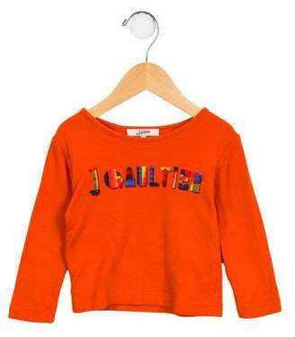 Junior Gaultier Boys' Long Sleeve Graphic Shirt