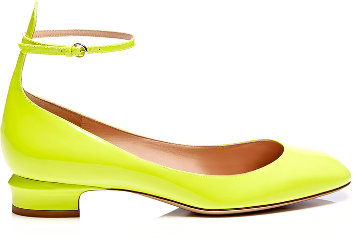 Valentino Tango Patent Leather Mary-Jane Pumps
