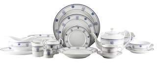 Tiffany & Co. 124-Piece Shell & Thread Dinner Service