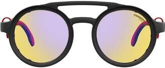 Carrera round aviator sunglasses