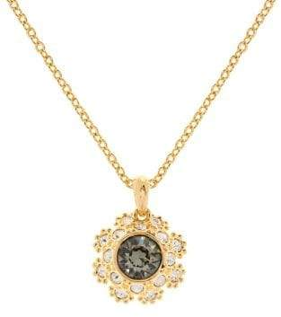 Ted Baker Crystal Daisy Lace Crystal Sirou Pendant Necklace