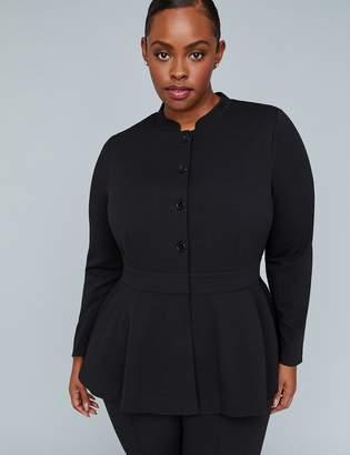 Lane Bryant Girl With Curves Peplum Jacket