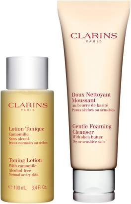Clarins Cleansing Essentials for Dry, Sensitive Skin