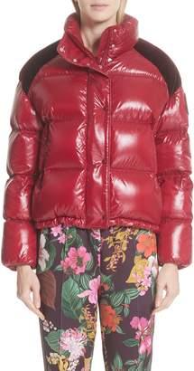 Moncler Genius by Chouette Velvet Trim Down Puffer Coat