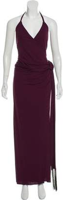 L'Agence Halter Evening Dress w/ Tags