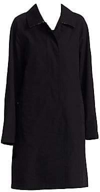 Burberry Women's Camden Cotton Collared Jacket