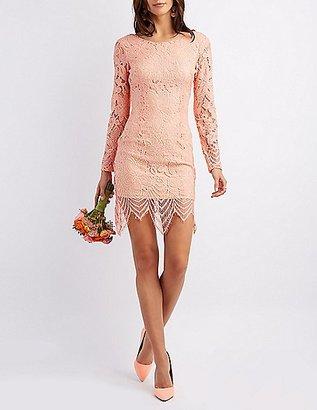 Open Back Lace Midi Dress $8.99 thestylecure.com