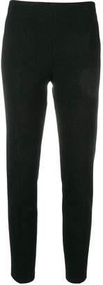 Les Copains tapered cropped trousers