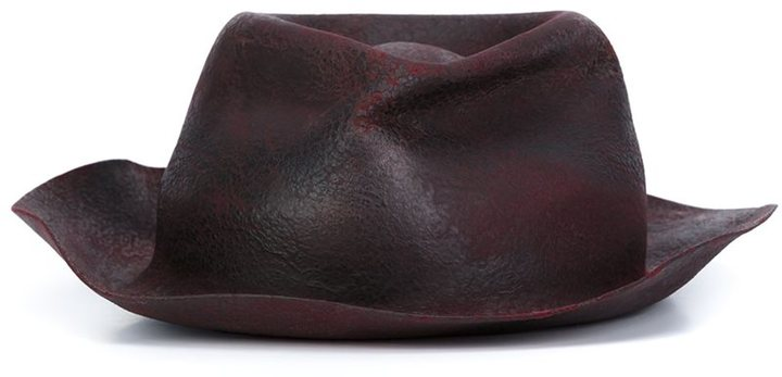 Horisaki Design & Handel 'Hard Burnt' fur hat