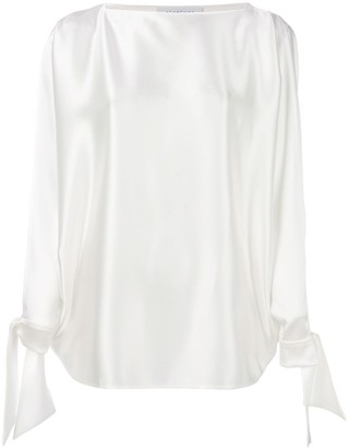 Gianluca Capannolo tied sleeves blouse