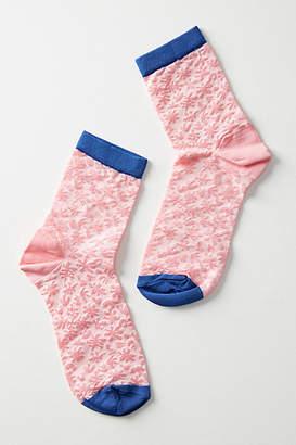 Hysteria Lotta Pink Crew Socks