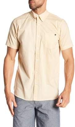 Lost Short Sleeve Solid Regular Fit Woven Shirt
