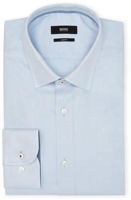 HUGO BOSS Light Blue Dash Slim Sport Shirt
