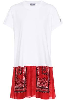 RED Valentino Printed cotton T-shirt dress