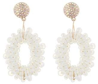 BaubleBar Eve Hoop Earrings