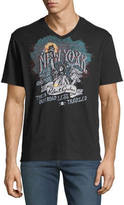 Robert Graham Men's NY Graphic Short-Sleeve T-Shirt