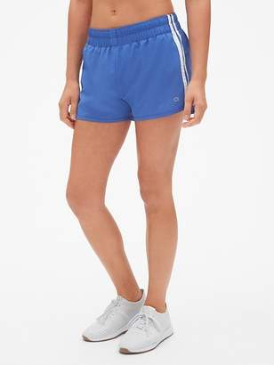 "Gap GapFit 3"" Side Stripe Running Shorts"