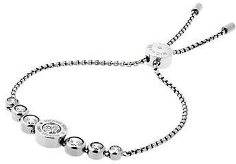 MICHAEL Michael KorsMichael Kors Brilliance Logo Slide Bracelet/Silvertone