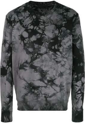 Helmut Lang tie-dye sweatshirt