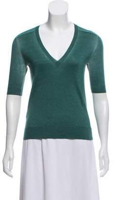 Marni Gradient Cashmere And Silk Blend Sweater