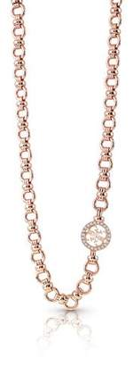 GUESS Pave Four-G Chain Necklace