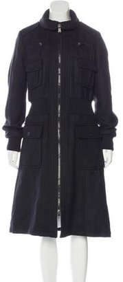 Diesel Long Wool Coat $225 thestylecure.com