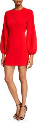 Cinq à Sept Danica Balloon-Sleeve Mini Dress