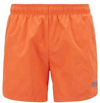 HUGO BOSS Swim shorts in quick-drying technical fabric