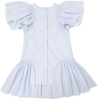 Ruffled Cotton Dress $138 thestylecure.com