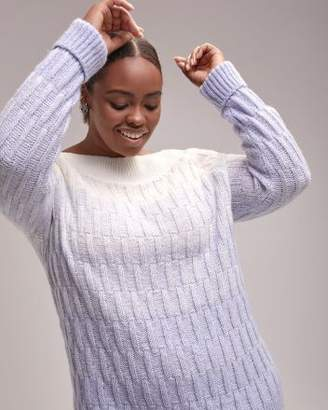 Ombre Sweater with Marylin Neckline - d/C JEANS