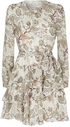 Shona Joy Floral Quinn Mini Dress