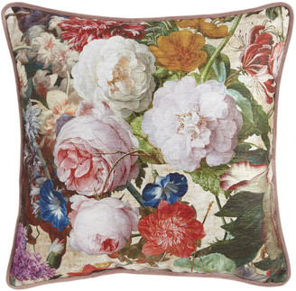 Sherry Kline Home Laila Square Floral PIllow