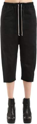Rick Owens Drkshdw Cropped Jersey Sweatpants