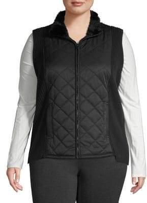 d71fb147632 Plus Size Faux Fur Jacket - ShopStyle Canada