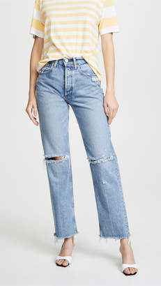 Moussy Vintage MV Viola Wide Straight Jeans