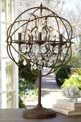 Soft Surroundings Iron Sphere Table Lamp