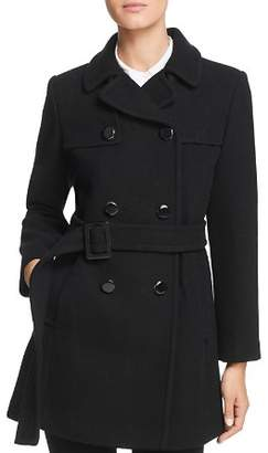 Kate Spade Belted Double-Breasted Button Front Coat