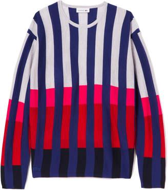 Lacoste (ラコステ) - カラーブロックストライプセーター (長袖)