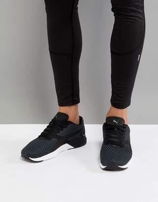 Puma Ignite dual core sneakers in black 19048901