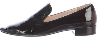 prada Prada Patent Leather Loafers