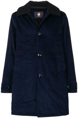 G Star Research teddy collar corduroy coat