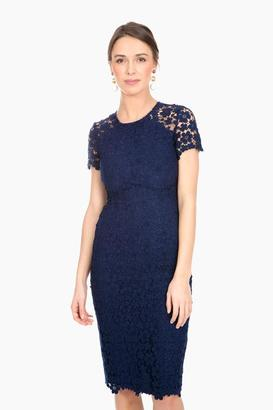 Shoshanna Navy Beaux Dress $395 thestylecure.com